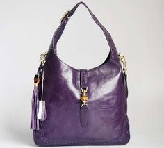 Purple Gucci | Gucci New Jackie Shoulder Bag Purple 219704