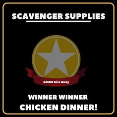 """and the winner is """"Scavenger Supplies"""". Winner Winner Chicken Dinner, Seo Agency, Design Development, Hacks, Website, Tips"""