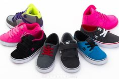 Do you want shoes that have durability, style, fit and comfort? DC has got it all. DC Shoes not only look awesome, but they feel great and are durable enough to last all year long. The playground has finally met its match. Steal your kiddo a pair today!