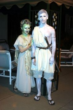 Medusa And Perseus Costumes  sc 1 st  usbdata : perseus halloween costume  - Germanpascual.Com