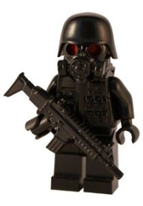 Grunt - Custom Figure - Buy LEGO Figures, Custom Minifigs Shop, Guns, Guitars, Weapons, Parts for Sale
