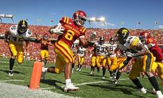 One of the best photos of 2011: the Cy-Hawk game - football #ISUWinningForPinning #CycloneFBCountdown