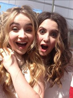 Laura Marano and Sabrina Carpenter