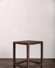 Kelly Wearstler Unveils New Furniture Line | Kelly Wearstler Transcendence Calacatta Marble, Interior Work, Brass Texture, Kelly Wearstler, Bold Stripes, Metal Fabrication, Neutral Palette, Postmodernism, Elle Decor