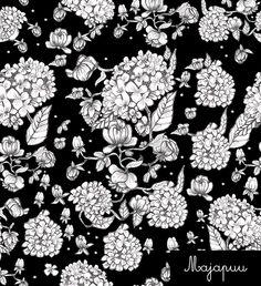Digitrikoo: Hortensia musta