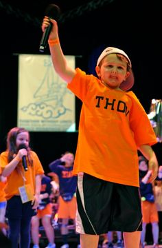 """Tucker Haas, first made famous by his  rendition of """"Boom Boom Pow"""" is now officially cancer free. This is why we THON! www.THON.org"""