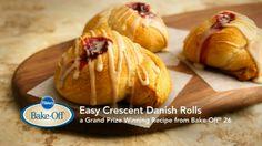 How to Make Easy Crescent Danish Rolls from Pillsbury.com