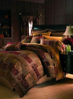 The Croscill Galleria Red Queen Comforter Set WITH 18% OFF DISCOUNT AND FREE SHIPPING Reviews