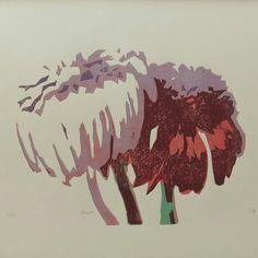 Die Weihnachtssaison ist eröffnet. Schenke doch deinen Liebsten ein Original-Linoldruck zum Fest. Rooster, Moose Art, Etsy, Animals, Lilac, Still Life, Product Design, Printing, Flowers
