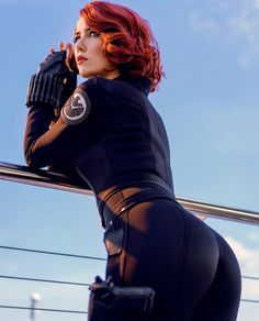 marvel cosplay Black Widow Cosplay by Helen Stifler : ! Marvel Cosplay, Marvel Fanart, Hero Marvel, Marvel Dc, Marvel Comics, Amazing Cosplay, Best Cosplay, Leila Star Wars, Scarlett Johansson