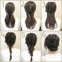 Updos For Layered Hair | Fancy Updos For Long Hair | Easy Diy Updos For Medium Length Hair 20190505