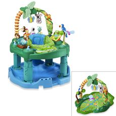 Evenflo® ExerSaucer - Any type of ExerSaucer that makes noise and has lots of activities will be great.  We started using ours at 4-5 months (once he was able to hold his head up well).  Also a great place to put the baby while you shower (in my opinion).