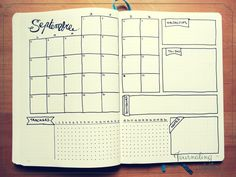 bullet journal des modèles page mensuelle pages mensuelles monthly layout spread