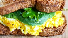A sophisticated Egg Salad Sandwich? Perfect for packed lunch.