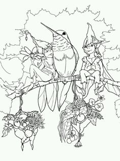Phee McFaddell Artist So Cute Free Coloring Page