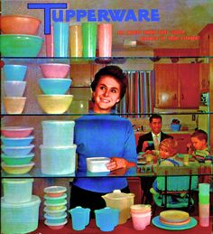 I've never been to a Tupperware party, though I was once given a Shaklee vitamin pitch after what was suppose to be an innocent dinner, and my physician tried to sell me on becoming an Amway distributor, which I found more sad than annoying since he couldn't seem to make it as a doctor. Of all the multi-level marketing schemes out there, I've always admired Tupperware, not only because they made useful products, but they also took the party-selling concept to new heights. I was surprised to…