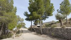 Source: Alfredo PayáPhotography: Milena VillalbaThis house is an exercise in blending with the landscape. It is set on a sequence of stepped agricultural terraces backed by an intense pine Alicante, 2 In, Terrace, Sidewalk, Country Roads, House, The Incredibles, Photo And Video, Landscape
