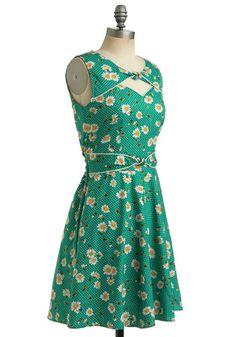 Good Ol' Daisy Dress, #ModCloth