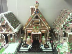 Gingerbread House Display — Gingerbread Houses