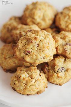 Carrot Oat & Pecan Cookies