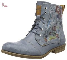Mustang 1157-548, Bottes Classiques Femme, Bleu (875 Sky), 41 EU - Chaussures mustang (*Partner-Link)