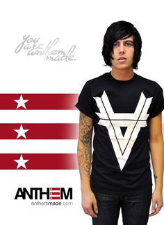 Kellin Quinn of Sleeping with Sirens for Anthem Made xx