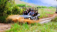 Princeville Ranch offers lots of adventures on the north shore of Kauai and off-roading is just one of them. Located between Princeville Resort and the Kalihiwai River, you won't have to go far to have a lot of fun. I've written two blogs featuring Princeville Ranch's horseback...