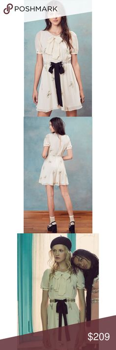 1b3dc1340b For Love and Lemons Scorpion Babydoll Mini Dress Nwt. Gorgeous