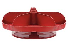 "20"" Rotating Hardware Bin, Red on OneKingsLane.com.  Love this larger red bin...just fun!"