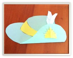 The Learning Curve: Lest We Forget. ANZAC Day slouch hat craft for kids.