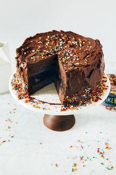 chocolate brownie cake | hummingbird high || a desserts and baking blog
