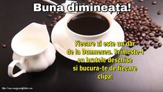 Buna dimineața! Messages, Tableware, Bom Dia, Dinnerware, Tablewares, Text Posts, Dishes, Place Settings