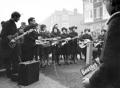 salvation army 1950's posters   Salvation Army band playing in the High Street, Tower Hamlets: 1963 ...