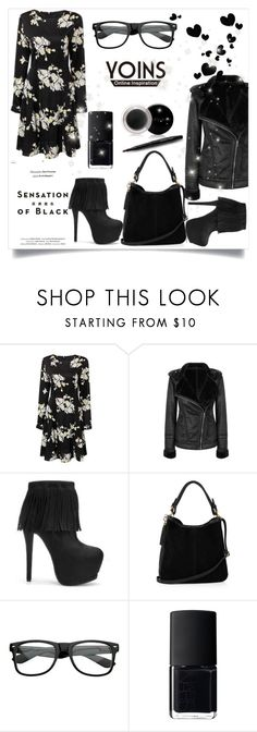 """""""Yoins 29"""" by zenabezimena ❤ liked on Polyvore featuring Vision, Oasis, NARS Cosmetics and Mary Kay"""