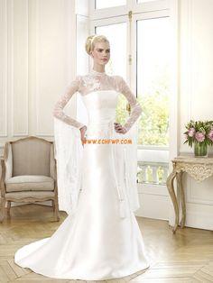 Kirche Elegant & Luxuriös Kappe Brautkleider 2014