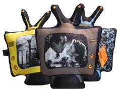 Tv retro peso de porta - R$59.00