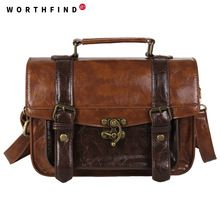 the best Wholesale 2015 New Men's Women Briefcase Pu Leather Messenger Travel Bags Business Men Tote Bags Man Casual Crossbody Briefcases