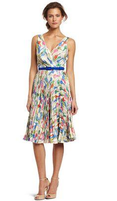 Eva Franco Pleat Dress