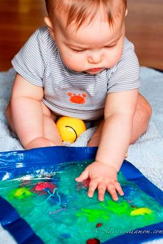 Atividade sensorial 1 Montessori Baby, Maria Montessori, Infant Activities, Activities For Kids, Math Groups, Reggio Emilia, Baby Crafts, My Teacher, Kindergarten