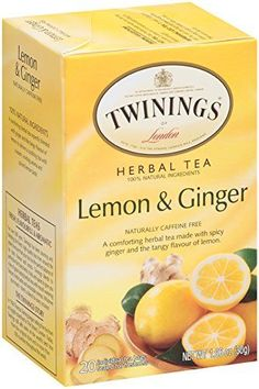 Twinings Herbal Tea, Lemon and Ginger, 20 Teabag Box (Pack of 6) *** Want to know more, click on the image.