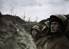 Soviet soldiers in the trenches - Leningrad Front | Original… | Flickr