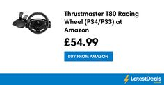 Thrustmaster T80 Racing Wheel (PS4/PS3) at Amazon, £54.99 at Amazon