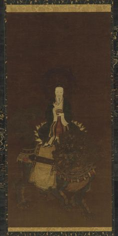 The Celestial Worthy Taiyi, Who Delivers from Suffering Medium: Ink and color on silk Type: Painting  Origin: China Topic: Buddhism, Daoism, bodhisattva, lion, Southern Song dynasty (1127 - 1279), Yuan dynasty (1279 - 1368), China, vitarka mudra  Credit Line: Gift of Charles Lang Freer Date: 13th-14th century Period: Southern Song or Yuan dynasty Accession Number: F1904.341 Data Source: Freer Gallery of Art and Arthur M. Sackler Gallery
