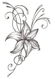 Image result for lily tattoos