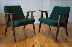 Fotel model 366 Chierowski design kultowy PRL 2szt (4790559589) - Allegro.pl - Więcej niż aukcje.