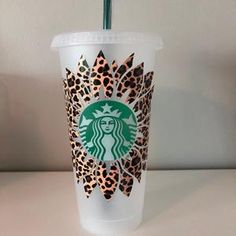 Personalized Starbucks Seasonal Cold Cup Venti Cold | Etsy Starbucks Coffee, Hot Coffee, Coffee Cups, Seafoam Green Color, Sea Foam, Personalized Gifts, Cold, Holiday, Crafts