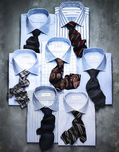 mens ties still life photography | Found on judyink.com