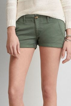 American Eagle Outfitters AE Twill Shortie