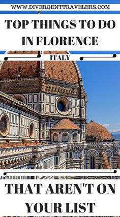 3 Days in Florence Itinerary (Do Not Visit Without Reading!) - Top things to do in Florence Italy that aren't on your list. Our Florence Italy travel guide goes - Sorrento Italy, Naples Italy, Sicily Italy, Capri Italy, European Vacation, Italy Vacation, European Travel, Italy Trip, Cinque Terre
