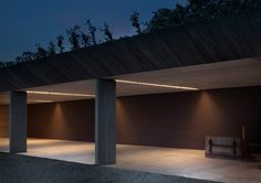 Image 3 of 14 from gallery of Agricultural Machinery Depot / deamicisarchitetti. Photograph by Alberto Strada Contemporary Architecture, Architecture Details, Interior Architecture, Interior And Exterior, Shed Design, House Design, Commercial Architecture, Minimalist Home, Old Houses